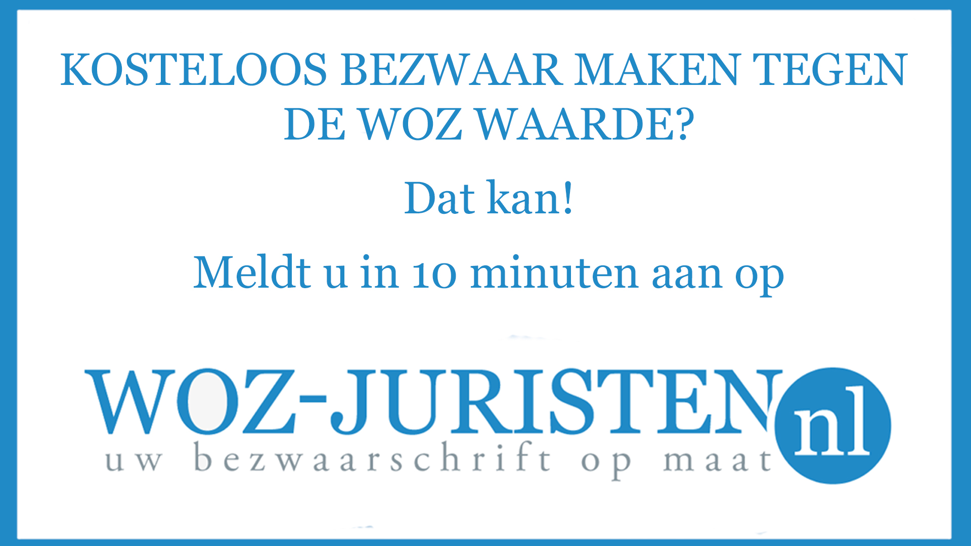 WOZJuristen advertentie